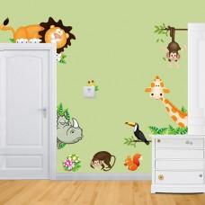 Stickers Voor Op De Muur Kinderkamer.Muurstickers Tover Die Saaie Muur Om Tot Een Prachtig Plaatje
